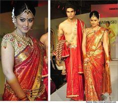 wedding kanjivaram saree