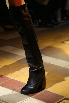 I see a way over the knee trend going on! Lanvin | Fall 2014 Ready-to-Wear Collection | Style.com