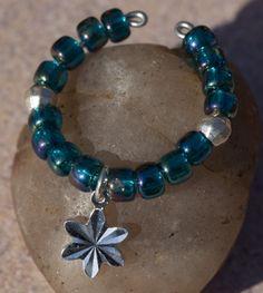 Iridescent Beads - Teal