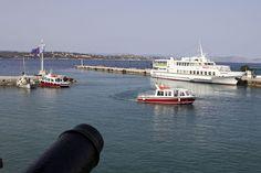 VISIT GREECE| Spetses, #island #atticaislands #Argosaronic gulf #greece #attica Visit Greece, Opera House, Boat, Island, Building, Travel, Dinghy, Viajes, Buildings
