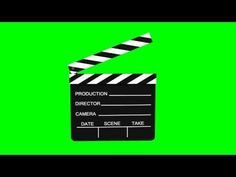 Movie Slate animated - green screen effects - free use First Youtube Video Ideas, Intro Youtube, Youtube Logo, Youtube Channel Art, Green Background Video, Green Screen Video Backgrounds, Youtube Banner Backgrounds, Youtube Banners, Chroma Key