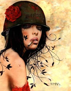 Cigarette Girls by Brian Viveros