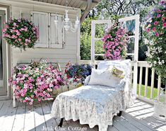 Junk Chic Cottage: Midwest Summer Like this.
