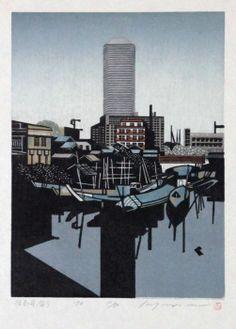 Morimura Ray - woodblock print
