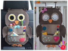 Crochet Pattern Owl Treasure Organiser by ViTalinaCraft on Etsy Looking for your next project? You're going to love Owl Treasure Organiser by designer Tanya Matsiuk. This crochet pattern is for my Owl Treasure Organiser. This beautiful organiser can be us Crochet Car, Crochet Owls, Crochet Home, Cute Crochet, Crochet For Kids, Crochet Crafts, Crochet Projects, Crochet Patterns, Crochet Appliques