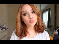 Loose Curls for Short Hair Tutorial - YouTube