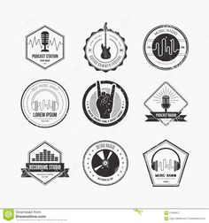 Collection of music logos made in vector. Recording studio labels h , Kevin Parker, Music Logo Inspiration, Logo Design Inspiration, Liz Phair, Jenny Lewis, Rage Against The Machine, Vampire Weekend, Logo Label, Beste Comics