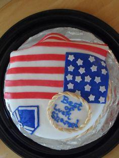 Flag/Military Cake