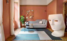 Studio Venturoni interior design project in Rome   Wallpaper* Rome Apartment, Apartment Renovation, One Bedroom Apartment, Apartment Interior, Housing A Forest, Plants For Hanging Baskets, Brick Interior, Nemo, Wooden Ceilings