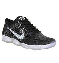 Nike Flyknit Zoom Agility Black White - Hers trainers
