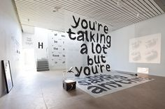 Creative Exhibition, Design, Krabbesholm, Art, and Architecture image ideas & inspiration on Designspiration Graphisches Design, Display Design, Booth Design, Wall Design, Pinterest Design, Exhibition Display, Exhibition Space, Exhibition Ideas, School Exhibition