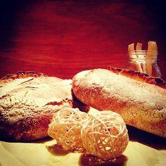 pane lievito madre con farina integrale macinata a pietra bio