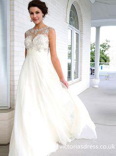 Scoop Sleeveless Evening Dresses With Beaded