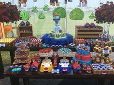 Mesa de dulces Paw Patrol @maiupuga