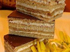 Velikonoční medové řezy Cornbread, Vanilla Cake, Honey, Cheese, Ethnic Recipes, Food, Millet Bread, Essen, Meals