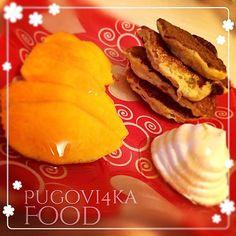 «Доброго субботнего утра☺️ Давненько не было рецептов из рубрики #Pugovi4ka_тыква Исправлюсь  ♥️♥️♥️♥️♥️ #pugovi4ka_тыквенныеОладьи☺️…»