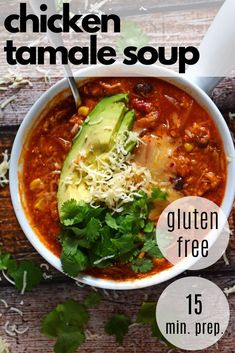 You will love this Chicken Tamale Soup for a fun spin on an easy chicken enchilada soup recipe! This healthy gluten free recipe comes together quickly for a family dinner idea! Just add a fresh margarita recipe! Healthy Chicken Recipes, Easy Healthy Recipes, Mexican Food Recipes, Tamale Soup Recipe, Fresh Margarita Recipe, Chicken Tamales, Easy Sandwich Recipes, Homemade Enchiladas, Recipes With Few Ingredients