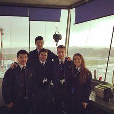 Visita de AFN a la torre de control de Ferronats #piloto #pilotlife