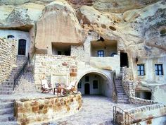 "Oh my!  The things I can do to make this place a ""rock""in home!  A great vacation home when in Turkey -- one of the caves in Cappadocia."