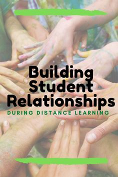 Building student relationships doesn't have to stop during distance learning. Here are 12 simple ways to stay connected with your students without adding more stress! Teaching Strategies, Teaching Tips, Learning Resources, Teacher Resources, Teaching Science, Teaching Technology, Get To Know You Activities, Interactive Learning, Blended Learning