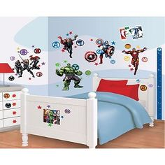 Muursticker Avengers Decor kit