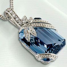 Bijoux Art Deco, Art Deco Jewelry, Fine Jewelry, Jewelry Design, Aquamarine Jewelry, Diamond Jewelry, Gemstone Jewelry, Silver Jewelry, Antique Jewelry