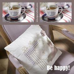 No se me ocurre una mejor forma de proponerte un feliz fin de semana. Con el estilo más Ideal y un buen café. http://elhogarideal.com/es/