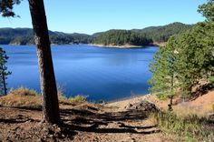 7. Pactola Reservoir - Silver City, SD