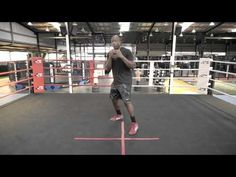 Boxing Footwork Tutorial - Step & Pivot In - YouTube
