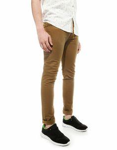 Bershka United Kingdom -Basic cotton trousers
