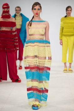 Berta Kenulyte, Birmingham City University, Graduate Fashion Week, #gfw2015 #knitwear #womenswear