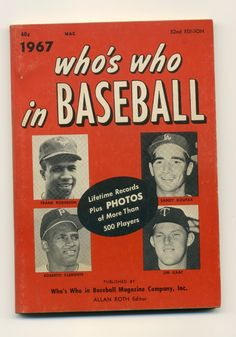 92 Best Who S Who In Baseball Images Red Books Baseball