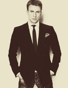 Chris Evans... Yes please :)