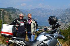 Kotor Bay in Montenegro - a great motorbike Ride!
