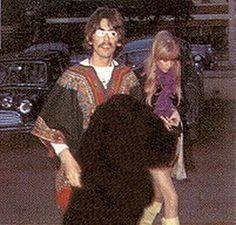 Women Of the Beatles Beatles Photos, The Beatles, George Harrison Pattie Boyd, Eric Clapton Pattie Boyd, Patti Harrison, Paul Mccartney, John Lennon, Wonderful Tonight, Anos 60