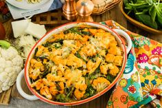 A #healthy baked ziti by #MeganGilmore! Cauliflower Baked Ziti! For more healthy alternative recipes watch Home & Family weekdays at 10a/9c on Hallmark Channel!