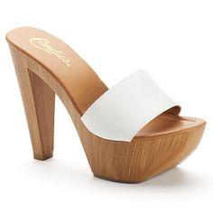 00f51759fe4 Vintage 70s 80s Mules Heels Platform Shoes   by BellaViveVintage ...