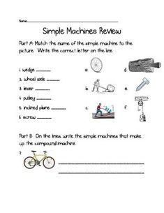 simple machines worksheet 1 science science worksheets. Black Bedroom Furniture Sets. Home Design Ideas