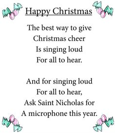 imaginative minds writing by children - Unique Christmas Songs