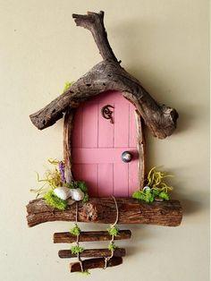 Items similar to Fairy Door, Tooth Fairy Door Custom Made by Sedona Fairy Doors on Etsy - Diy Fairy Door, Tooth Fairy Doors, Fairy Garden Doors, Fairy Garden Houses, Tooth Fairy Receipt, Tooth Fairy Certificate, Fairy Gifts, Fairy Tree, Fairy Furniture