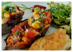 sweet potato boats recipe on thesoulscribble.blogspot.com