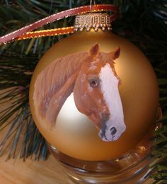 Celebrate your favorite animal with a custom portrait ornament.