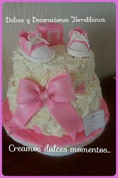 Pastel De Baby Shower Para Niña Pedidos Al Cel 5567023311 U2026