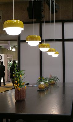 Haipot Pendant Light By Dyberg Larsen - Yellow Lime Lace www.limelace.co.uk