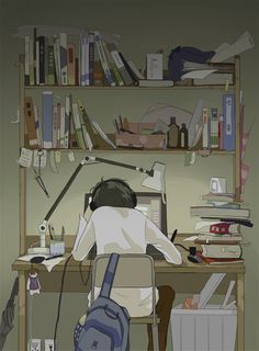 Discovered by chae. Find images and videos about gif, art and anime on We Heart It - the app to get lost in what you love. Cartoon Kunst, Anime Kunst, Cartoon Art, Aesthetic Art, Aesthetic Anime, Anime Art Girl, Anime Girls, Arte 8 Bits, Anim Gif