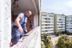 Glattanstrich wird vom Fenstermonteur aufgetragen. Diese gewährleistet eine Glatte Oberfläche für die ÖNROM-Fenstermontage B5320!  #Fenstermontage #Linz
