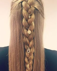 Hoops for your hair.