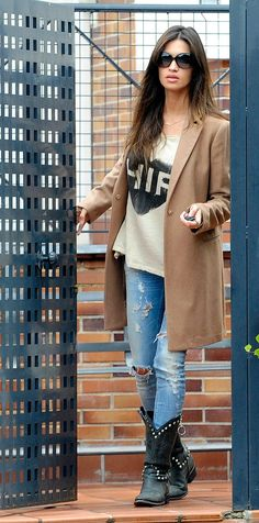 Sara Carbonera , her hair looks so good Fall Winter Outfits, Autumn Winter Fashion, Winter Clothes, Trendy Outfits, Fashion Outfits, Fashionable Outfits, Women's Fashion, Look Boho Chic, Effortless Chic