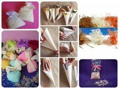 Bolsas de arroz para tirar en bodas