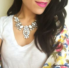 Statement neck from @LIV May + piper - My Fash Avenue